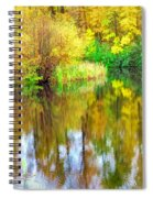 Golden Creek Spiral Notebook