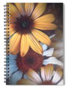 Golden Daisies Spiral Notebook