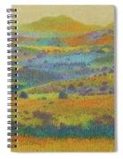 Golden Dakota Day Dream Spiral Notebook