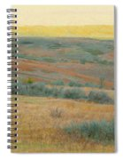 Golden Dakota Horizon Dream Spiral Notebook