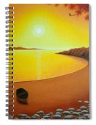 Golden Dawn Spiral Notebook