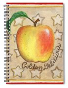 Golden Delicious Two Spiral Notebook