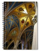 Golden Dome Spiral Notebook
