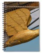 Golden Eagle Masthead Spiral Notebook