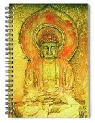 Golden Enlightenment Spiral Notebook
