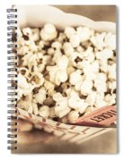 Golden Era Of Entertainment Spiral Notebook