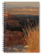 Golden Evening Light Bryce Canyon 1 Spiral Notebook