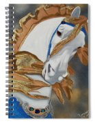 Golden Fantasy Spiral Notebook