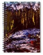 Golden Forest Spiral Notebook