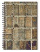 Golden Gate Belly Spiral Notebook