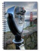 Golden Gate Binoculars Spiral Notebook
