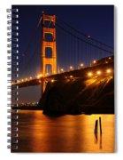 Golden Gate Bridge 1 Spiral Notebook