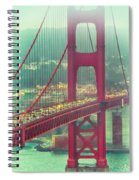Golden Gate Portrait Spiral Notebook