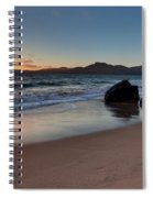 Golden Gate Sunset Spiral Notebook