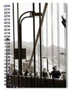 Golden Gate Suspension Spiral Notebook
