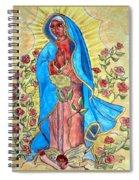 Golden Guadalupe Spiral Notebook