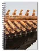 Golden Guardians Of The Forbidden City Spiral Notebook