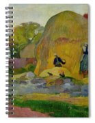 Golden Harvest Spiral Notebook