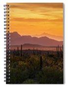 Golden Hills  Spiral Notebook