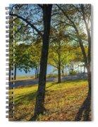 Golden Hour At Tenkiller State Park Spiral Notebook