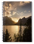 Golden Jenny Lake View Spiral Notebook