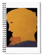 Golden Lady   -036 Spiral Notebook