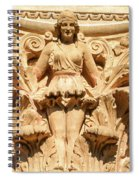 Golden Lady Spiral Notebook
