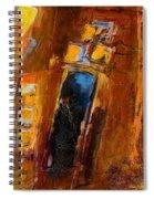 Golden Lights Spiral Notebook