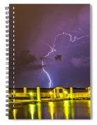 Golden Marina Spiral Notebook