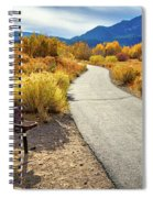 Golden Moments In Mammoth Spiral Notebook