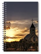 Golden Morning Light  Spiral Notebook