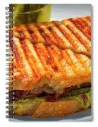Golden Panini Spiral Notebook