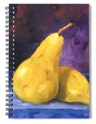 Golden Pears Spiral Notebook