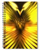 Golden Phoenix Spiral Notebook