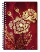 Golden Poppies Spiral Notebook