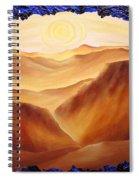 Golden Possibilities Spiral Notebook