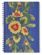 Golden Radiance Spiral Notebook