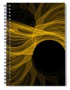 Golden Rays Spiral Notebook
