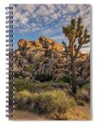 Golden Rocks Spiral Notebook