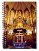 Golden Room Spiral Notebook