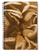 Golden Rose Spiral Notebook