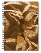 Golden Rose Spiral Notebook