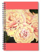 Golden Roses Spiral Notebook