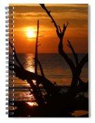 Golden Sky Spiral Notebook