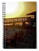 Golden Slats Spiral Notebook