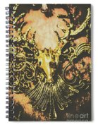 Golden Stag Spiral Notebook