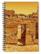 Golden Times Spiral Notebook