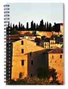 Golden Town Spiral Notebook