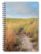 Golden Trail Spiral Notebook