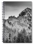 Golden Trail Crater Lake Rim Spiral Notebook
